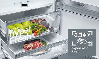 Siemens Kühlschrank Heiß : Kühlgeräte mit hyperfresh der siemens extraklasse elektrogeräte